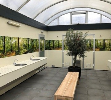 Sanitary facilities central or private